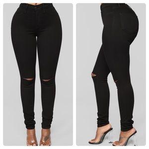 Black Canopy Jeans